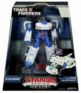 Transformers Hasbro Titanium Cybertron Heroes 6 Inch Diecast Figure Ultra Magnus [War Within]