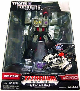Transformers Hasbro Titanium Cybertron Heroes 6 Inch Diecast Figure Megatron [War Within]