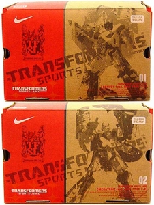 Transformers Takara Sports Label Nike Free 7.0 Set of Optimus Prime & Megatron