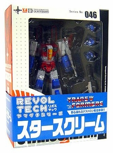 Transformers Revoltech #046 Super Poseable Action Figure Starscream