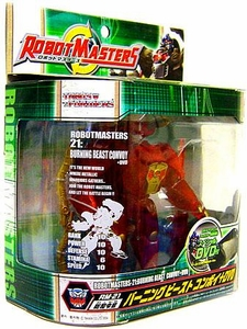 Transformers Robot Masters RM-21 Optimus Primal [Burning Beast Convoy Plus DVD]