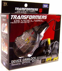 Transformers Takara Device Label Transforming Laser Mouse Grimlock