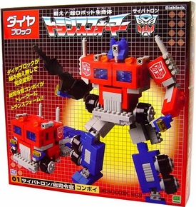 Transformers Dia-Block 11 Inch Transforming Optimus Prime