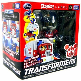 Transformers Takara Disney Mickey Mouse Transformer [Color Version]