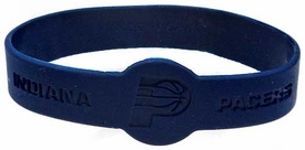 Official NBA Team Rubber Bracelet Indiana Pacers [Blue]