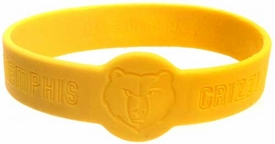 Official NBA Team Rubber Bracelet Memphis Grizzlies [Yellow]
