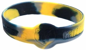 Official NBA Team Rubber Bracelet Memphis Grizzlies [Marble]