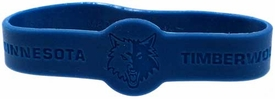 Official  NBA Team Rubber Bracelet Minnesota Timberwolves [Blue]