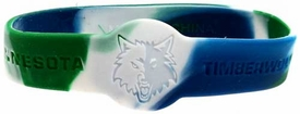 Official  NBA Team Rubber Bracelet Minnesota Timberwolves [Marble]