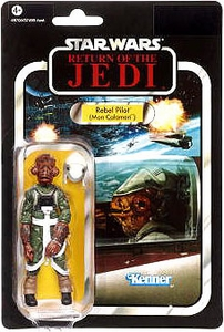Star Wars 2012 Vintage Collection Action Figure #91 Rebel Pilot [Mon Calamari]