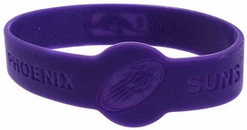 Official NBA Team Rubber Bracelet Phoenix Suns [Purple]