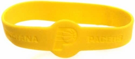 Official NBA Team Rubber Bracelet Indiana Pacers [Yellow]