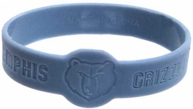 Official NBA Team Rubber Bracelet Memphis Grizzlies [Blue]