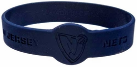 Official NBA Team Rubber Bracelet New Jersey Nets [Blue]