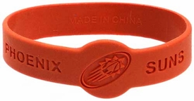 Official NBA Team Rubber Bracelet Phoenix Suns [Orange]