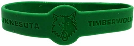 Official  NBA Team Rubber Bracelet Minnesota Timberwolves [Green]
