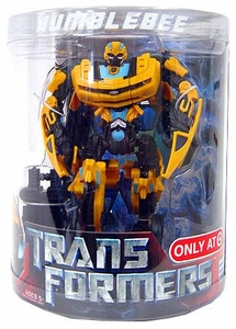 Transformers Movie Deluxe Exclusive Action Figure in Canister Bumblebee
