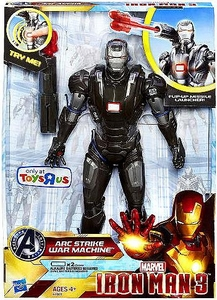 Iron Man 3 Exclusive 10 Inch Action Figure with Sound Arc Strike War Machine