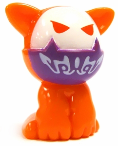 Crazy Bones Gogo's Collectible Tin Series 1 LOOSE Single Figure #4 Badcat