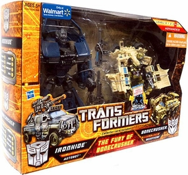 Transformers Exclusive Action Figure 2-Pack The Fury of Bonecrusher [Ironhide & Bonecrusher]