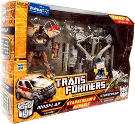 Transformers Exclusive Action Figure 2-Pack Starscream's Assault [Mudflap & Starscream]