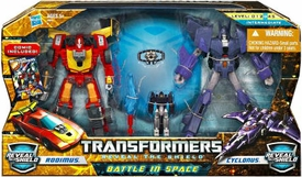 Transformers Deluxe Action Figure 2-Pack Battle in Space [Rodimus Vs. Cyclonus]