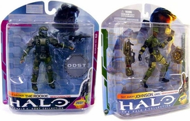 Halo 3 McFarlane Toys Action Figure Special Pack ODST Soldier {The Rookie} & Avery Johnson