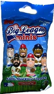 Topps Big League Minis Booster Pack [1 RANDOM Collectible Vinyl Figure]