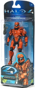 Halo 4 McFarlane Toys Series 2 Action Figure RUST Spartan Scout [Unlocks Toxic Scout Skin!]