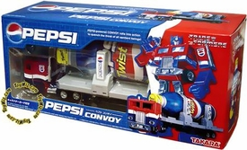 Transformers Japanese Takara Re-Issue Optimus Prime & Pepsi Trailer