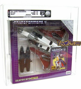 Transformers Takara Re-Issue #D-56 Ramjet AFA Graded 85