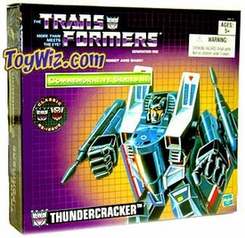 Transformers Hasbro Commemorative Series III Action Figure Thundercracker