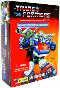 Transformers Hasbro Commemorative Series VI Action Figure Smokescreen