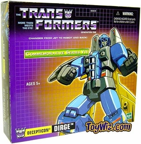 Transformers Hasbro Commemorative Series VII Action Figure Dirge