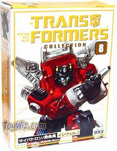 Transformers Takara Re-Issue Collector's Series #8 Inferno with Bumpersticker
