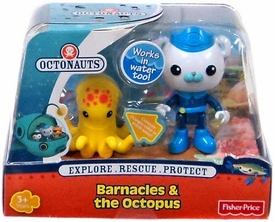 Fisher Price Octonauts Figure & Creature Barnacles & The Octopus