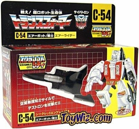 Transformers Japanese Takara Re-Issue #C-54 Air Raid C-7 Box