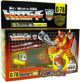 Transformers Takara Re-Issue #C-78 Hotrod