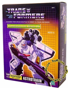 Transformers Hasbro Commemorative Series IX Exclusive Action Figure Triple-Changer Astrotrain
