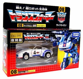 Transformers Japanese Tomy Takara Re-Issue Renewal Encore #08 Jazz