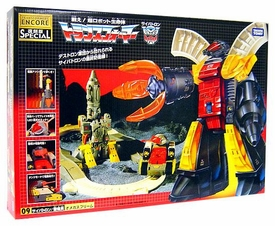 Transformers Japanese Tomy Takara Re-Issue Renewal Encore #09 Omega Supreme