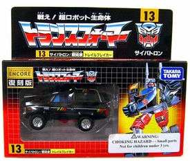 Transformers Japanese Tomy Takara Re-Issue Renewal Encore #13 Trailbreaker