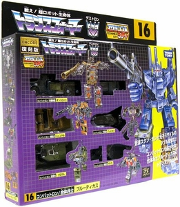 Transformers Japanese Tomy Takara Re-Issue Renewal Encore #16 Bruticus [Combaticon Combiner]