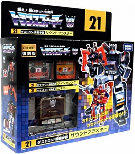 Transformers Takara 2011 Encore Re-Issue #21 Soundblaster