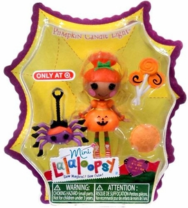 Lalaloopsy Exclusive 3 Inch Mini Figure with Accessories Pumpkin Candle Light