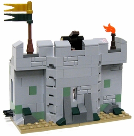 LEGO LOOSE Terrain Castle Wall with Catapult