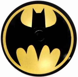 LEGO Batman LOOSE Accessory Black Dish 4 x4 Bat Signal