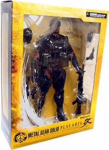 Metal Gear Solid Peace Walker Play Arts Kai Action Figure Snake [Battle Dress Version]