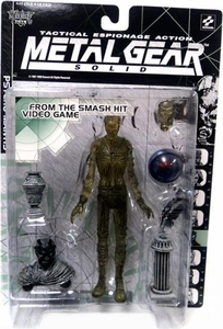 McFarlane Toys Metal Gear Solid Action Figure Psycho Mantis [Clear Variant]