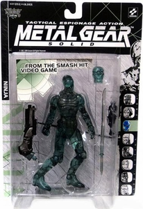 McFarlane Toys Metal Gear Solid Action Figure Ninja [Optic Camoflauge Variant]